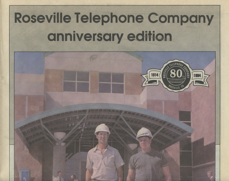 Roseville Telephone Company 80th Anniversary